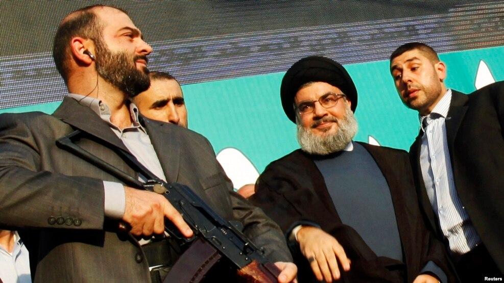آقای بان در این گزارش به سخنان حسن نصرالله، رهبر حزبالله لبنان، در تابستان گذشته اشاره کرده، که گفته بود تمام هزینهها و تسلیحات گروه او را ایران تامین میکند