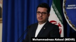 Iranian Foreign Ministry spokesman Abbas Musavi (file photo)