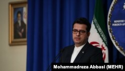 Abbas Mousavi, the spokesman for Iran's Foreign Ministry has criticized Bahrain for not repatriating its nationals from Iran. FILE PHOTO