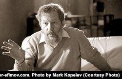 Игорь Ефимов (Андрей Московит) - американский (с 1978) философ, писатель и издатель. Фото Марка Копелева