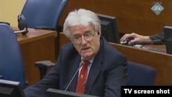 Radovan Karadžić u sudnici Haškog tribunala 3. septembra