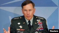 U.S. General David Petraeus (file photo)