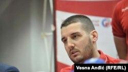 Jedan od napadnutih vaterpolista Crvene Zvezde Aleksandro Kralj