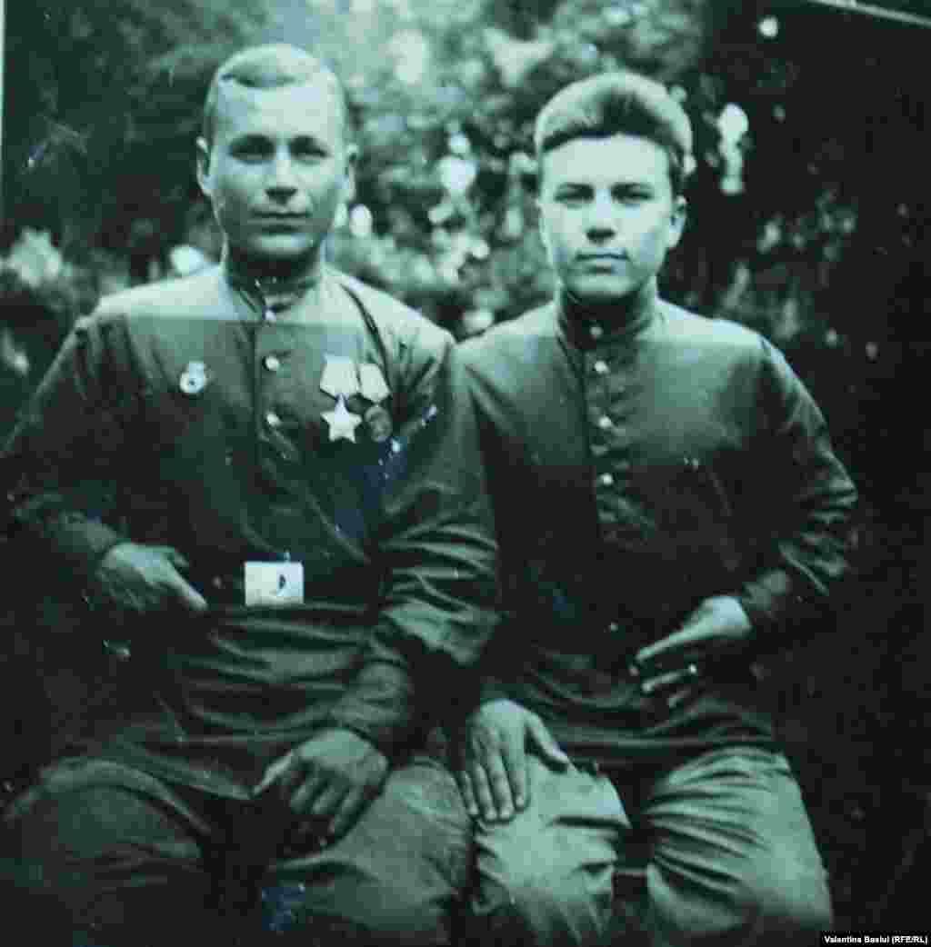 Moldova, Andrei Gaina (right) WWWII veteran