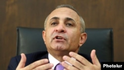 Armenia - Parliament speaker Hovik Abrahamian.