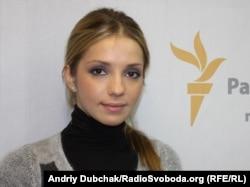Yevgeniya Carr, kćerka Yulie Tymoshenko, RSE studio u Kijevu, 2011.