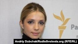 Євгенія Тимошенко у студії Радіо Свобода