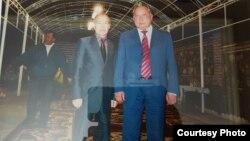 Тулешов с экс-президентом Кыргызстана Бакиевым