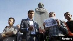 მოსკოვი, 22 მაისი: ოპოზიციონერების აქცია რუსეთის სახელმწიფო სათათბიროსთან