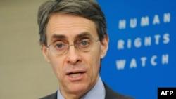 Human Rights Watch-ի գործադիր տնօրեն Քեննեթ Ռոթը ելույթ է ունենում Բրյուսելում, արխիվ