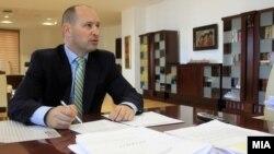 Министерот за финансии Кирил Миновски
