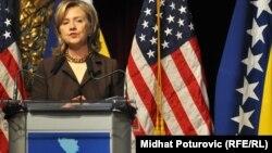Hilari Klinton u Sarajevu 2010.