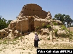 The ruins of the house in Balkh where Rumi is thought to have been born in the thirteenth century.