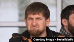 Чеченскиот лидер, Рамзан Кадиров.