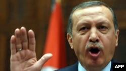 Премьер-министр Турции Реджеп Теййиб Эрдоган