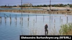 Сакське озеро, ілюстративне фото