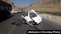 بنا بر آمار رسمی حدود دو درصد تصادفهای رانندگی در ایران منجر به کشته شدن سرنشینان میشود