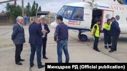 Вертолет Минздрава Дагестана
