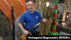 Дагестанец Нурбаганд Магомедов участвовал в войне в Афганистане, а сейчас работает дальнобойщиком