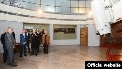 Նախագահ Սերժ Սարգսյանը Բյուրականի աստղադիտարանում