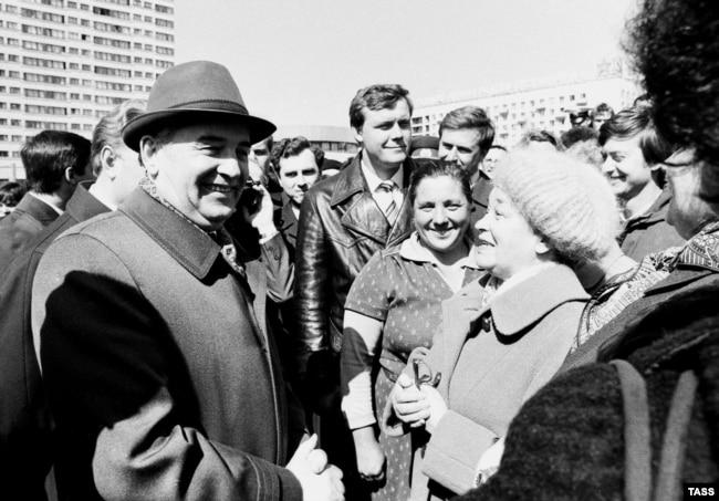 Встреча Михаила Горбачева с ленинградцами, 1985 год