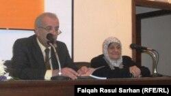 جانب من الإحتفاء بتجربة التربوية والشاعرة عاصمة عبد الرزاق في عمّان.