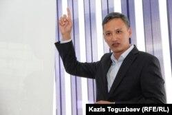 Иса Құлтумаевтың адвокаты Әбілғазы Нағиев.