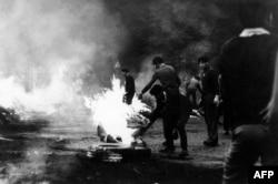 Столкновения на улицах Праги, август 1968