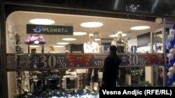Beogradske radnje snizile su cene pred Novu godinu