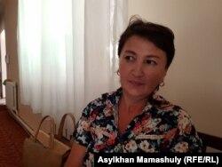 Алматы тұрғыны, үш баланың анасы Айтолқын Пентаева. 2 тамыз 2019 жыл.