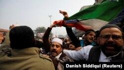 Protestat në Indi