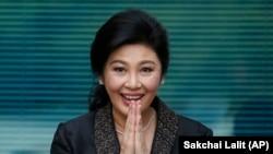 Former Thai Prime Minister Yingluck Shinawatra (file photo)