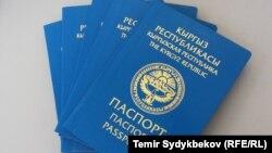 1994-жылкы үлгүдөгү паспорт