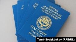Общегражданский паспорт Кыргызстана. Иллюстративное фото.