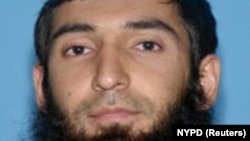 New York City terror suspect Sayfullo Saipov