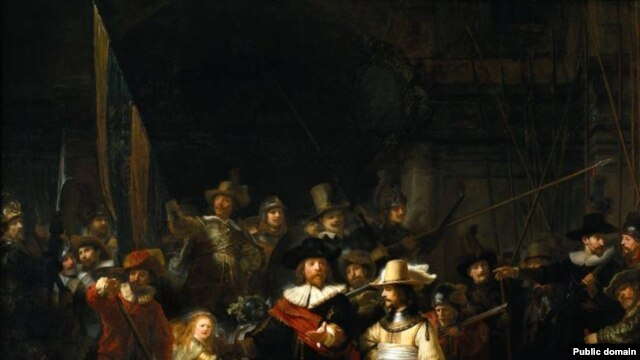 "Rembrandt's ""Night Watch"" -- a study of Russia's North Caucasus?"