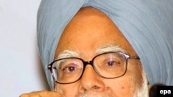 "Indian Prime Minister Manmohan Singh: ""Our nation remains steadfastly united."""
