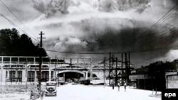 Naqasakiyə nüvə zərbəsi. 9 avqust 1945
