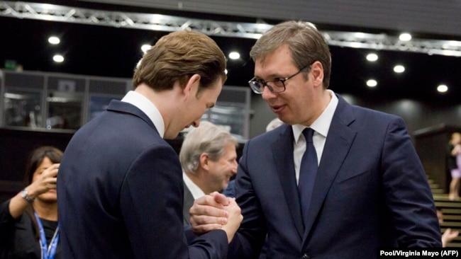 Austrija posebno optimistična oko Srbije i Crne Gore (Sebastian Kurz i Aleksandar Vučić u Sofiji)