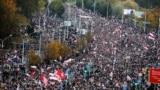Протест против Лукашенко в минске, 25.10.2020