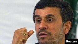 Эрон Президенти Маҳмуд Аҳмадийнажод.