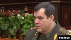 Старшыня КДБ Беларусі Валер Вакульчык, архіўнае фота