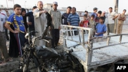 At least 70 people were killed in blast at the Mraidi market in Baghdad on June 25