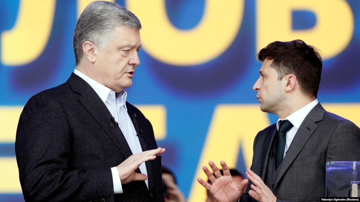 «Конкурс капитанов»: первые реакции соцсетей на дебаты Порошенко и Зеленского