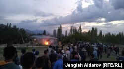 Конфликт на границе Кыргызстана и Узбекистана. 31 мая 2020 года.