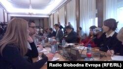 Архива - Седница на Анкетна комисија за скандалот со прислушкувањето
