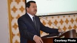 Председатель государственного комитета национальной безопасности Таджикистана Саймумин Ятимов.