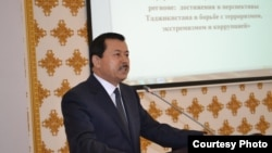 Саймумин Ятимов, председатель Госкомитета национальной безопасности Таджикистана.