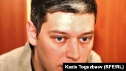 """Вячеслав Абрамов, директор """"Фридом Хаус"""" по Казахстану. Алматы, 17 ноября 2010 года."""