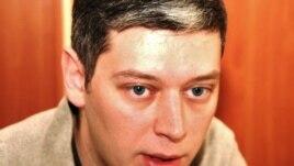 """Вячеслав Абрамов, Қазақстандағы """"Фридом Хаус"""" ұйымының директоры. Алматы, 17 қараша 2010 жыл."""